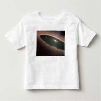 A gap in a protoplanetary, or planet-forming toddler t-shirt