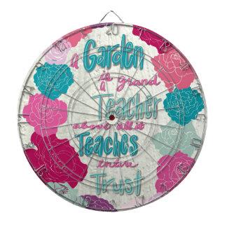 A Garden is a teacher Dartboard