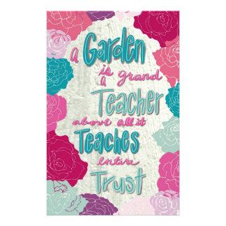 A Garden is a teacher Stationery