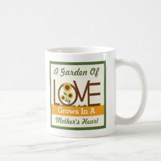 A Garden of Love Grows in a Mother's Heart Mug