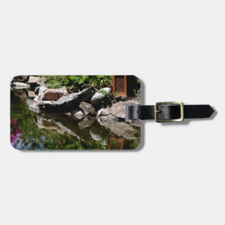 A Garden Pond in Summer Luggage Tag