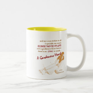 A Gardeners Heart-Positive, Uplifting Poetry Mug