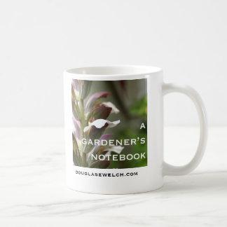 A Gardener's Notebook Logo Mug
