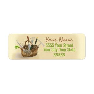 A Gardener's Return Address Labels