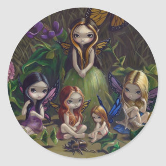 """A Gathering of Faeries"" Sticker"