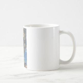 A genie coffee mug