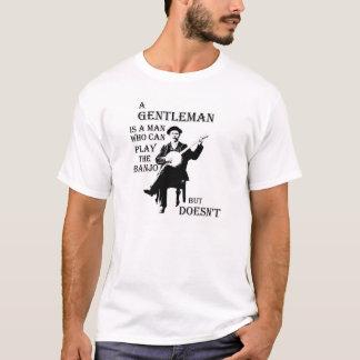 A Gentleman and a Banjo T-Shirt