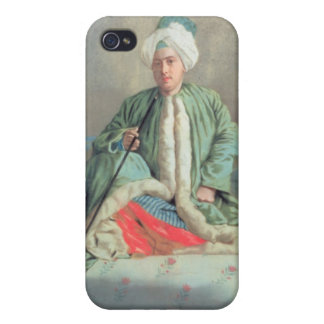 A Gentleman Seated on a Couch iPhone 4 Cover