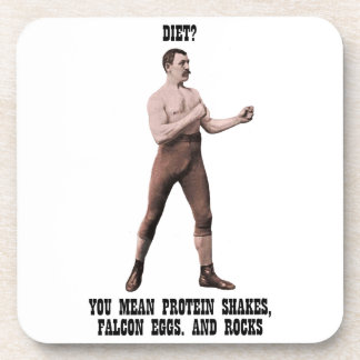 A Genuine Overly Manly Man Coaster