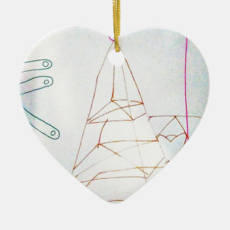 A Geometers Glass Bead Game Ceramic Ornament