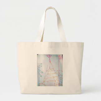 A Geometers Glass Bead Game Large Tote Bag