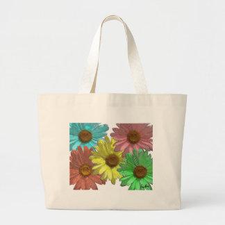 A Gerber Daisy Design Bags