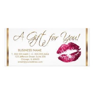 A Gift Certificate Hot Pink Lipstick Business 2
