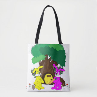 """A Gift for Fluffy"" Tote Bag"