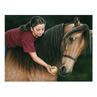A Gift for Sunny Morgan Horse Art Postcard