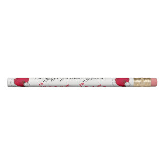 A Gift from Your Secret Santa Claus Christmas Xmas Pencil