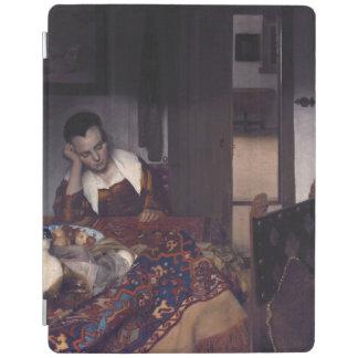 A Girl Asleep by Johannes Vermeer iPad Cover