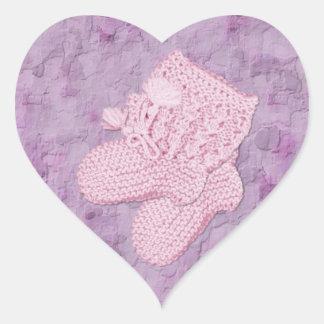 A Girl Envelope Seal Heart Sticker