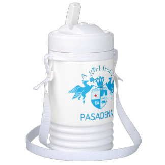 A Girl From PASADENA Logo Emblem Igloo Beverage Cooler