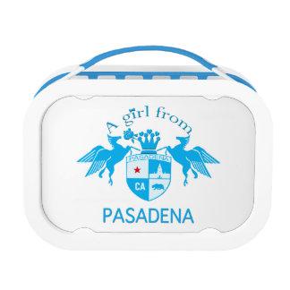 A Girl From PASADENA Logo Emblem Lunchbox