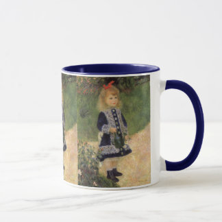 A Girl with Watering Can by Pierre Renoir Mug