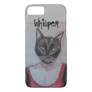 A Glamorous Tuxedo Cat iPhone 7 Case