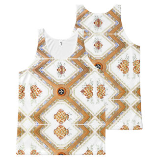 A Glass Ceiling All-Over-Print Tank Top
