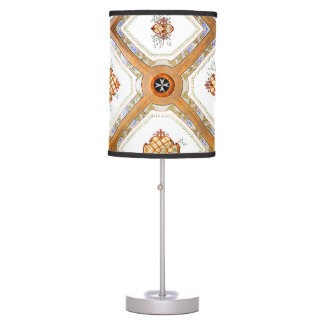 A Glass Ceiling Table Lamp