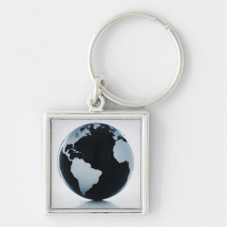 A globe 3 keychain