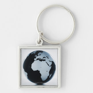 A globe key chains