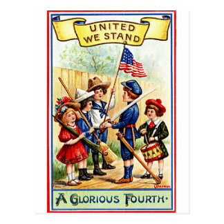 A Glorious 4th of July Postcard