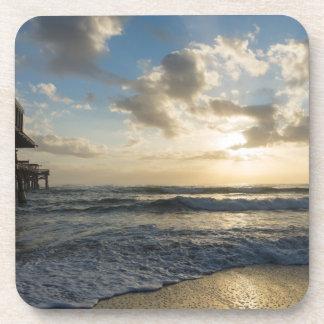 A Glorious Beach Morning Coaster