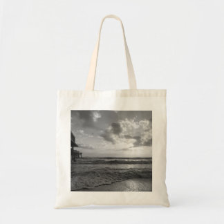 A Glorious Beach Morning Grayscale