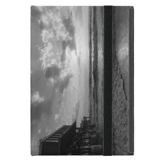 A Glorious Beach Morning Grayscale iPad Mini Case