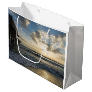A Glorious Beach Morning Large Gift Bag