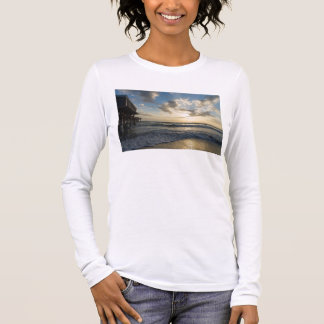 A Glorious Beach Morning Long Sleeve T-Shirt