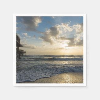 A Glorious Beach Morning Paper Napkin