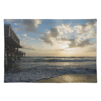 A Glorious Beach Morning Placemats