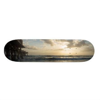 A Glorious Beach Morning Skate Board Deck