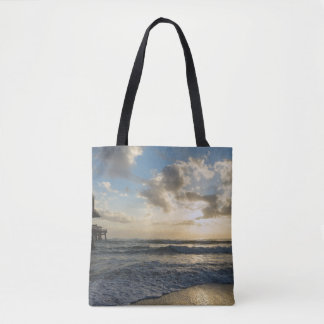 A Glorious Beach Morning Tote Bag