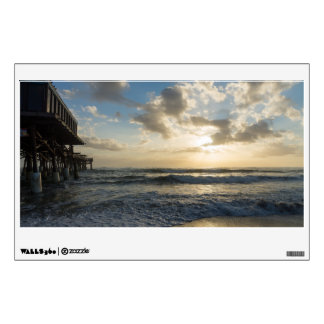 A Glorious Beach Morning Wall Decal