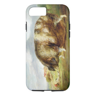 A Gloucestershire Old Spot (oil on panel) iPhone 7 Case