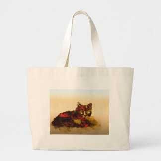 a glow from within large tote bag