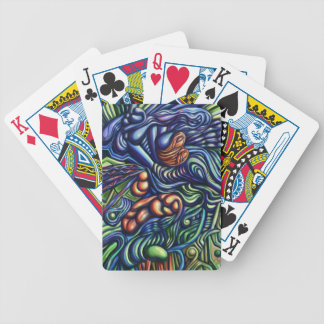 'A Going on of Things' digital painting Bicycle Playing Cards