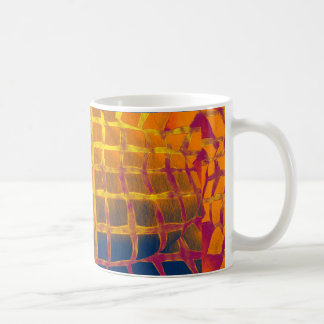 A golden cage coffee mug