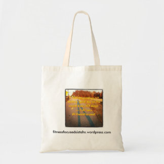 A Good Day Working OUT is IN the BAG! Tote Bag
