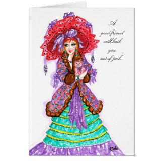 A good friend...-card card