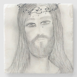 A Good Jesus Stone Coaster