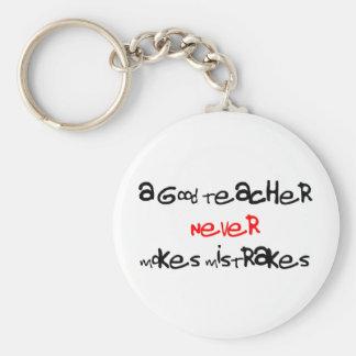 a good teacher keychain