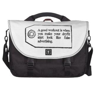 A Good Workout Laptop Bag
